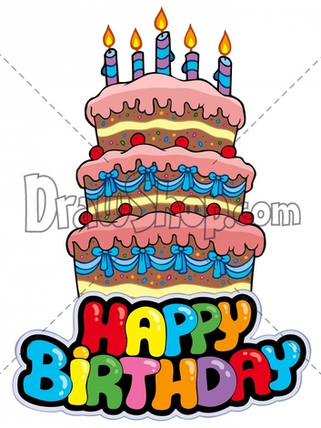 birthday cake drawing cartoon ; 7cda550aa743f2daecf8a552fac2839c
