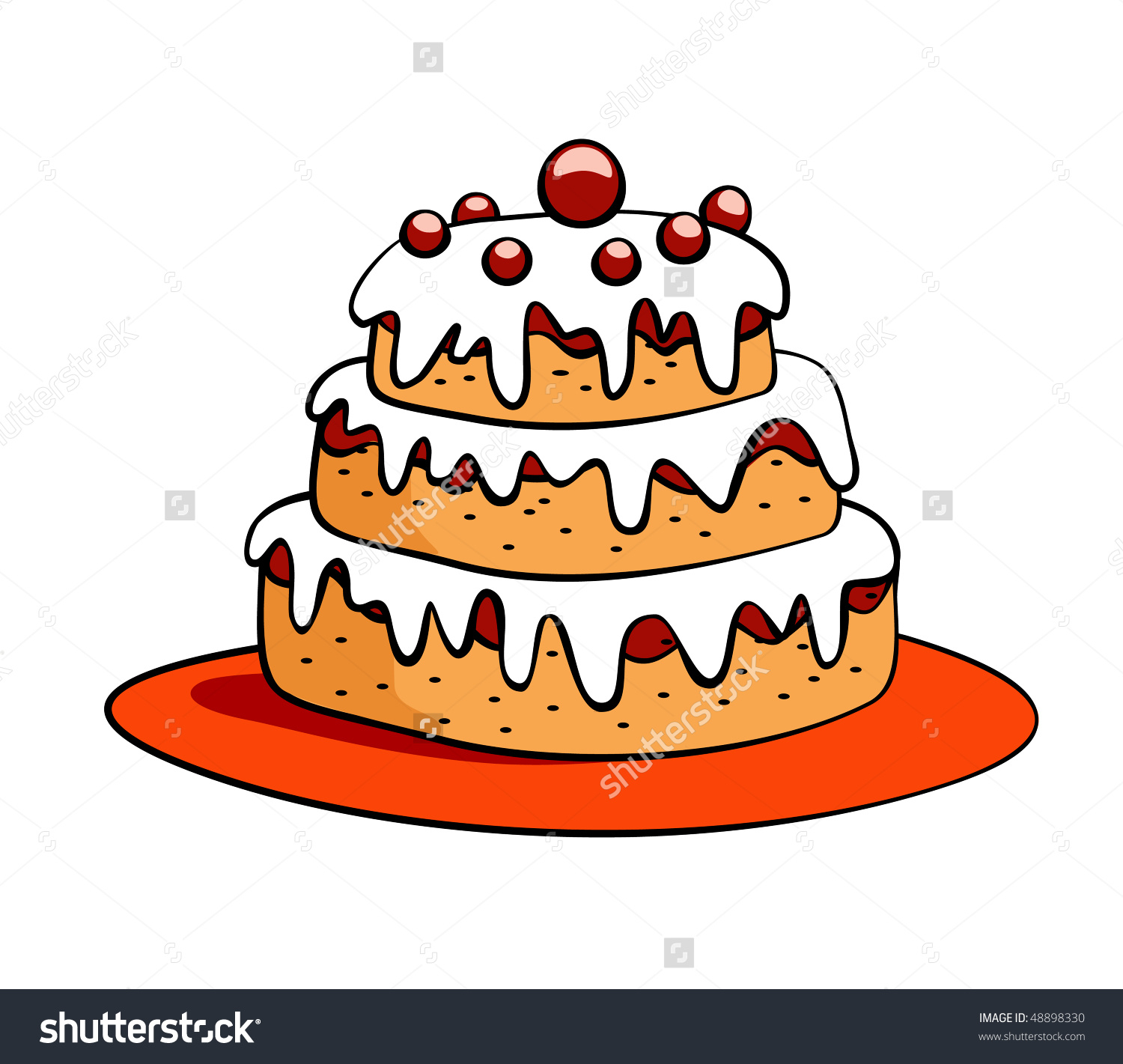 birthday cake drawing cartoon ; birthday-cake-drawing-cartoon-54