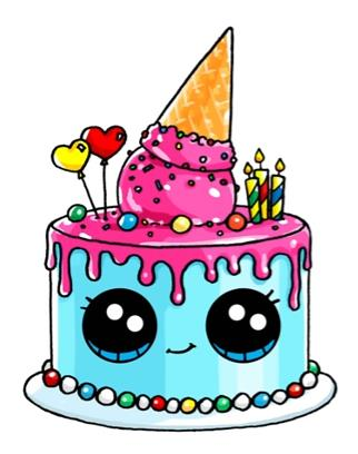 birthday cake drawing cartoon ; d29b4c85b1602dccc18a5c67b8bac768