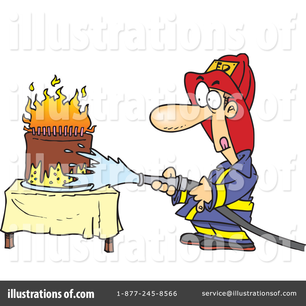 birthday cake on fire clipart ; birthday-cake-on-fire-clipart-1