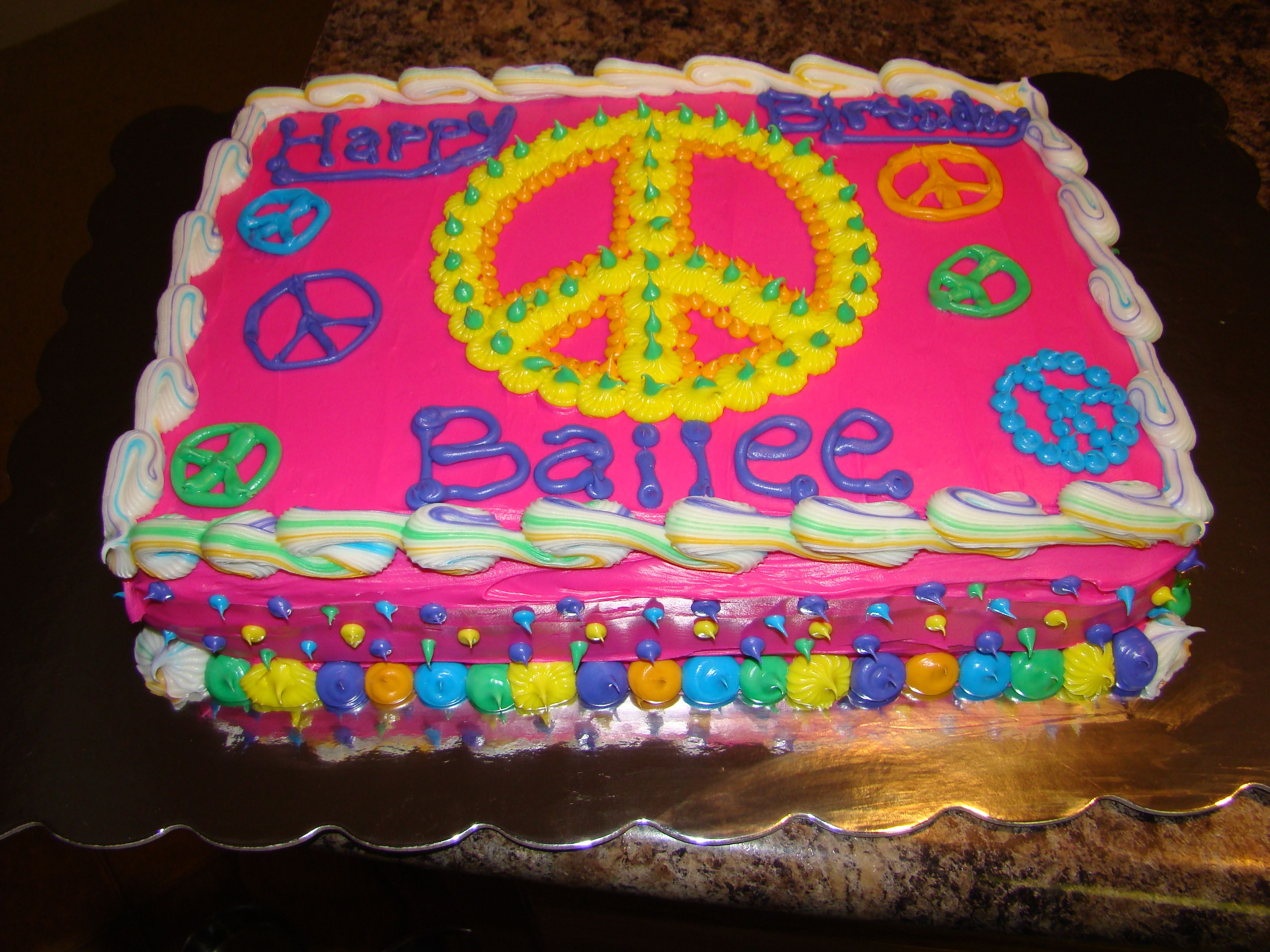 birthday cake peace sign ; dc0ec062a6a87cf4f4ee1cdef1eee20d