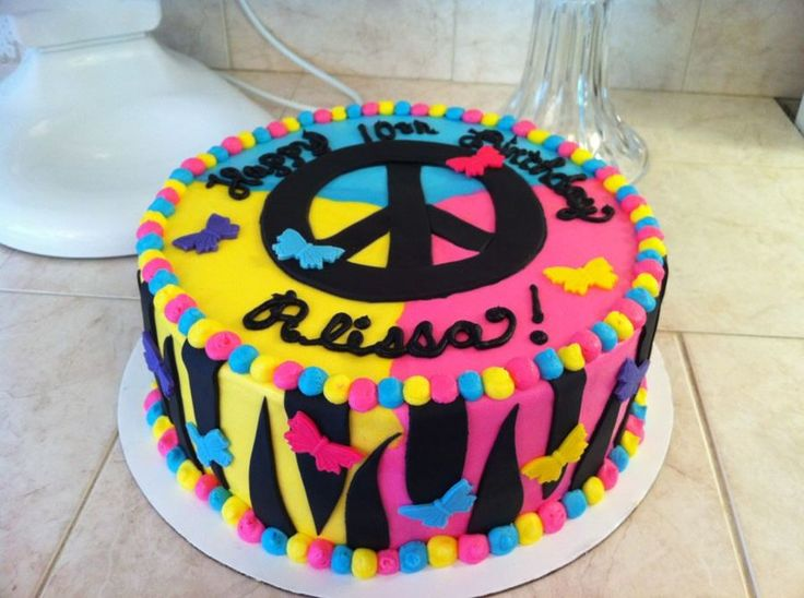Prime Birthday Cake Peace Sign Best Happy Birthday Wishes Personalised Birthday Cards Epsylily Jamesorg