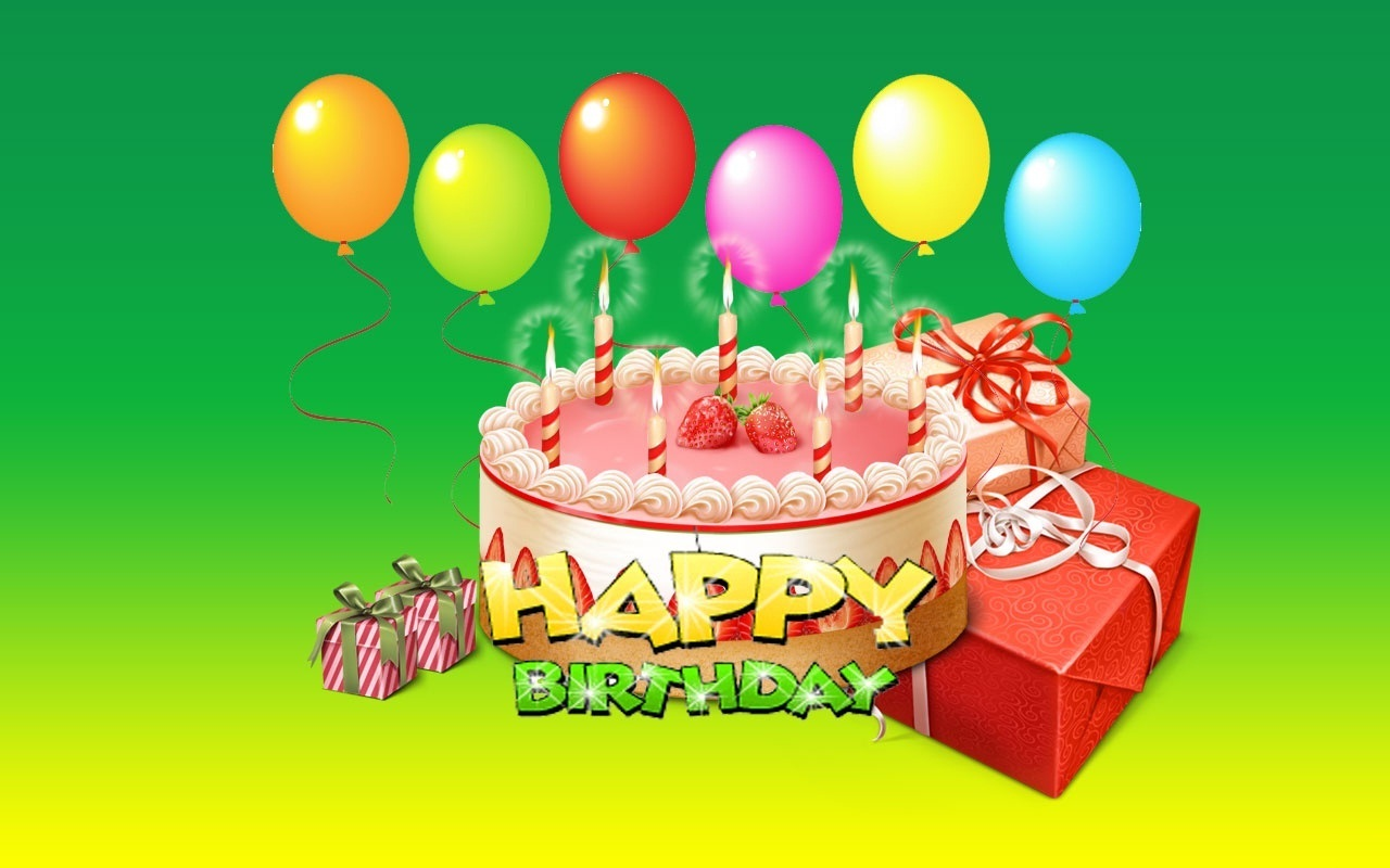 birthday cake wallpaper for mobile ; Happy-Birthday-Balloons-With-Cake