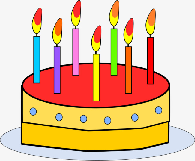 birthday cake with candles clipart ; 8236190e89b32c873af5f26e53fbe974