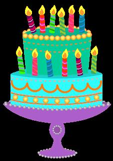 birthday cake with candles clipart ; e5dd4f07a307f850d2807c46a48a4703