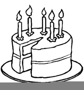 birthday candle clipart black and white ; 15161761151552354391black-white-birthday-candle-clipart