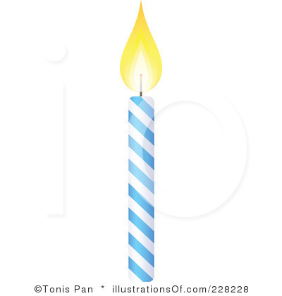 birthday candle clipart black and white ; birthday-candle-drawing-51
