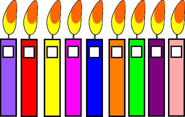 birthday candle clipart black and white ; birthday-candles-hi