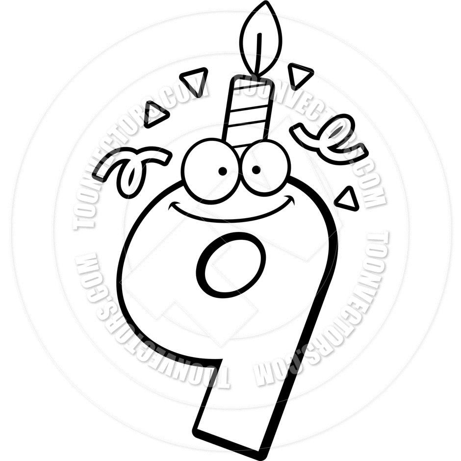 birthday candle clipart black and white ; black-and-white-birthday-candle-clip-art_445287