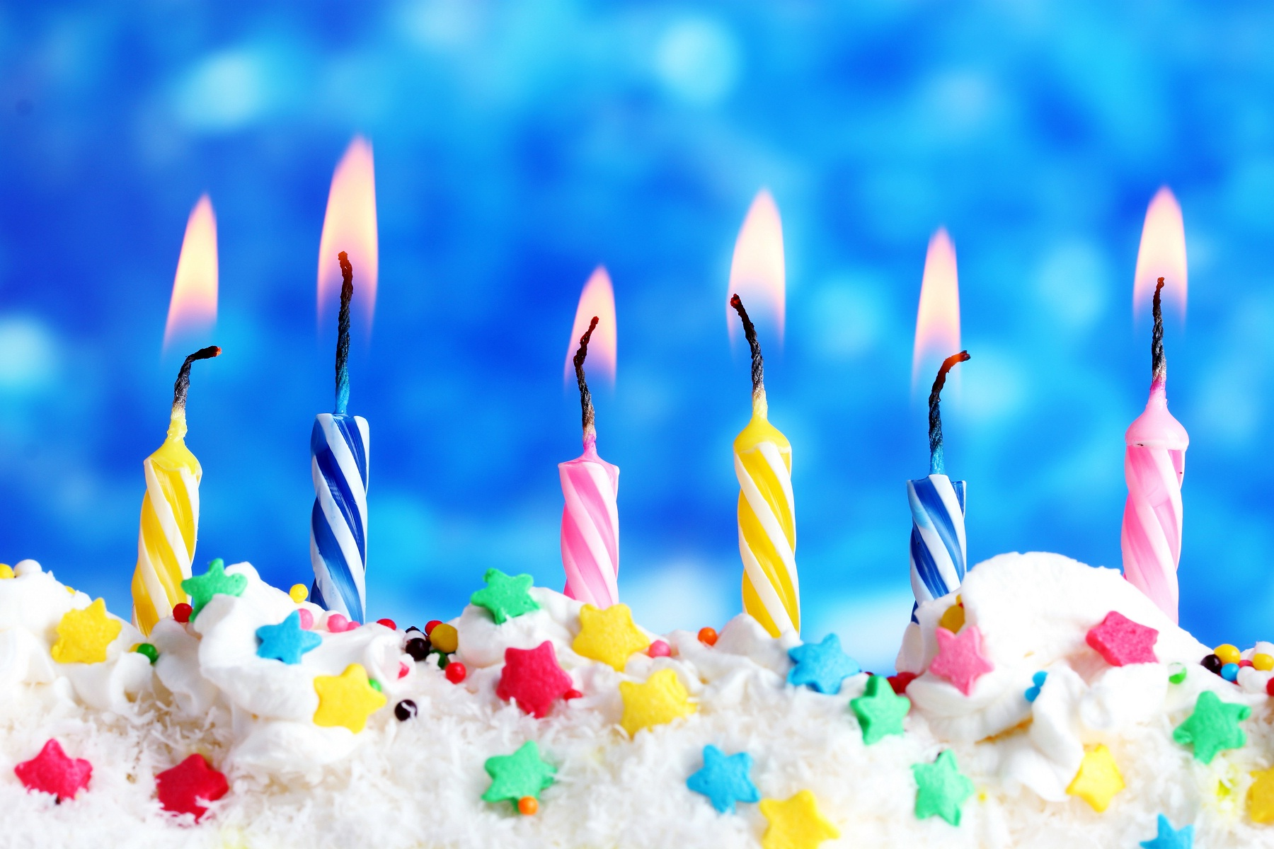 birthday candles wallpaper ; Happy-birthday-candles-on-cake
