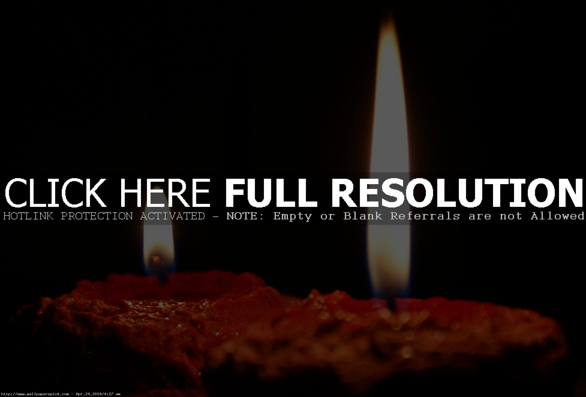 birthday candles wallpaper ; Light-Of-Candles-Wallpaper