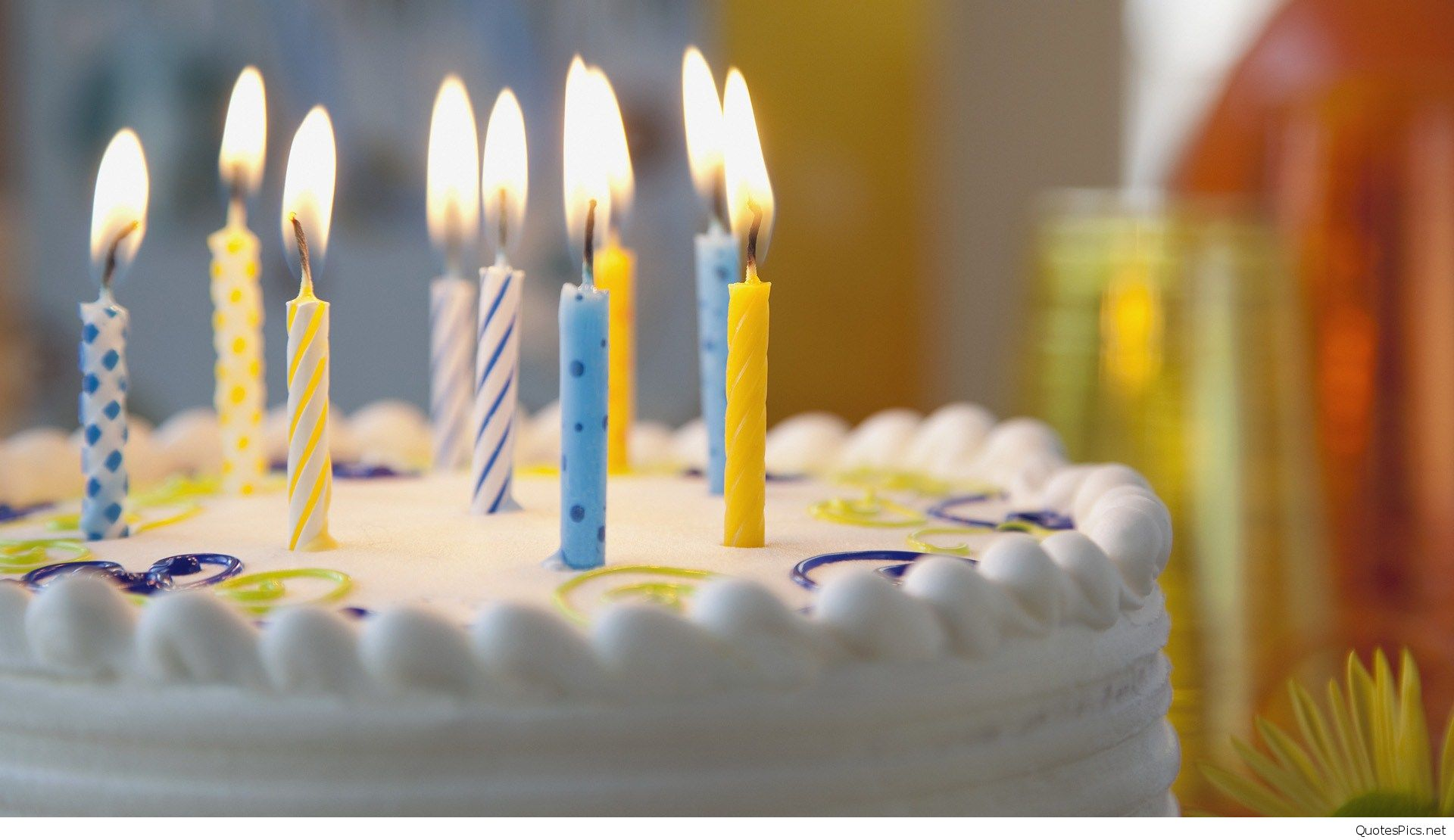 birthday candles wallpaper ; birthday-cake-with-candles-wallpaper-4
