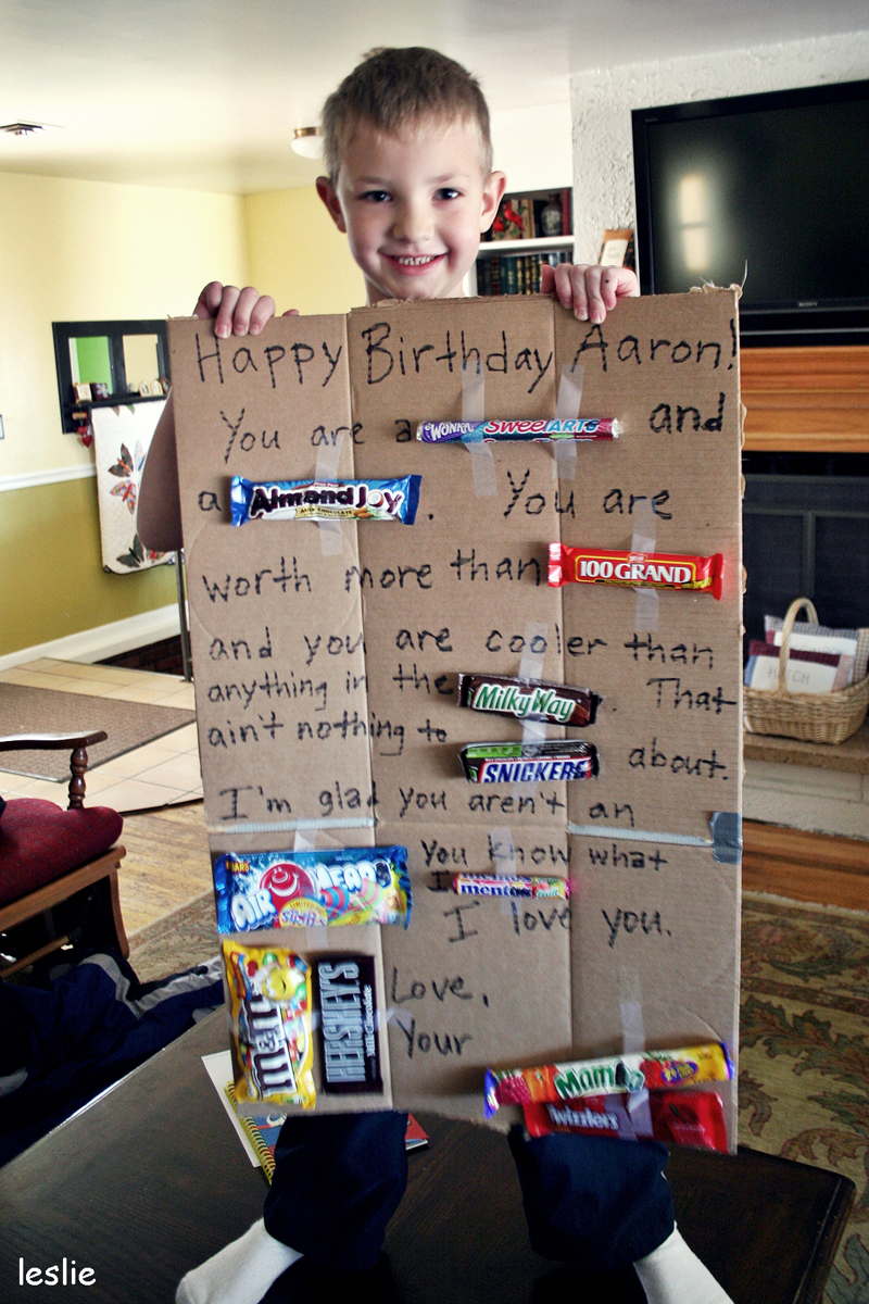 birthday candy poster ; IMG_1574
