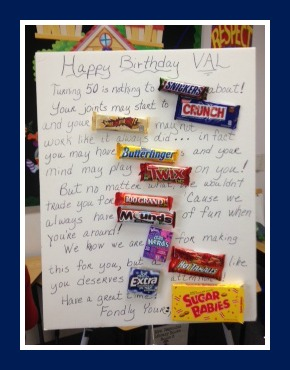 birthday candy poster ; IMG_1917