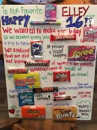 birthday candy poster for best friend ; 04f59356317f4aefde3e9f40899959d1