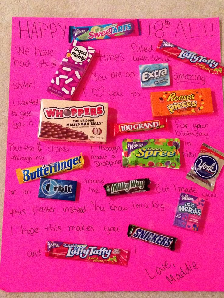 birthday candy poster for best friend ; 4b5d026d12ef2b20f7c921c4140a440d--birthday-candy-posters-candy-grams