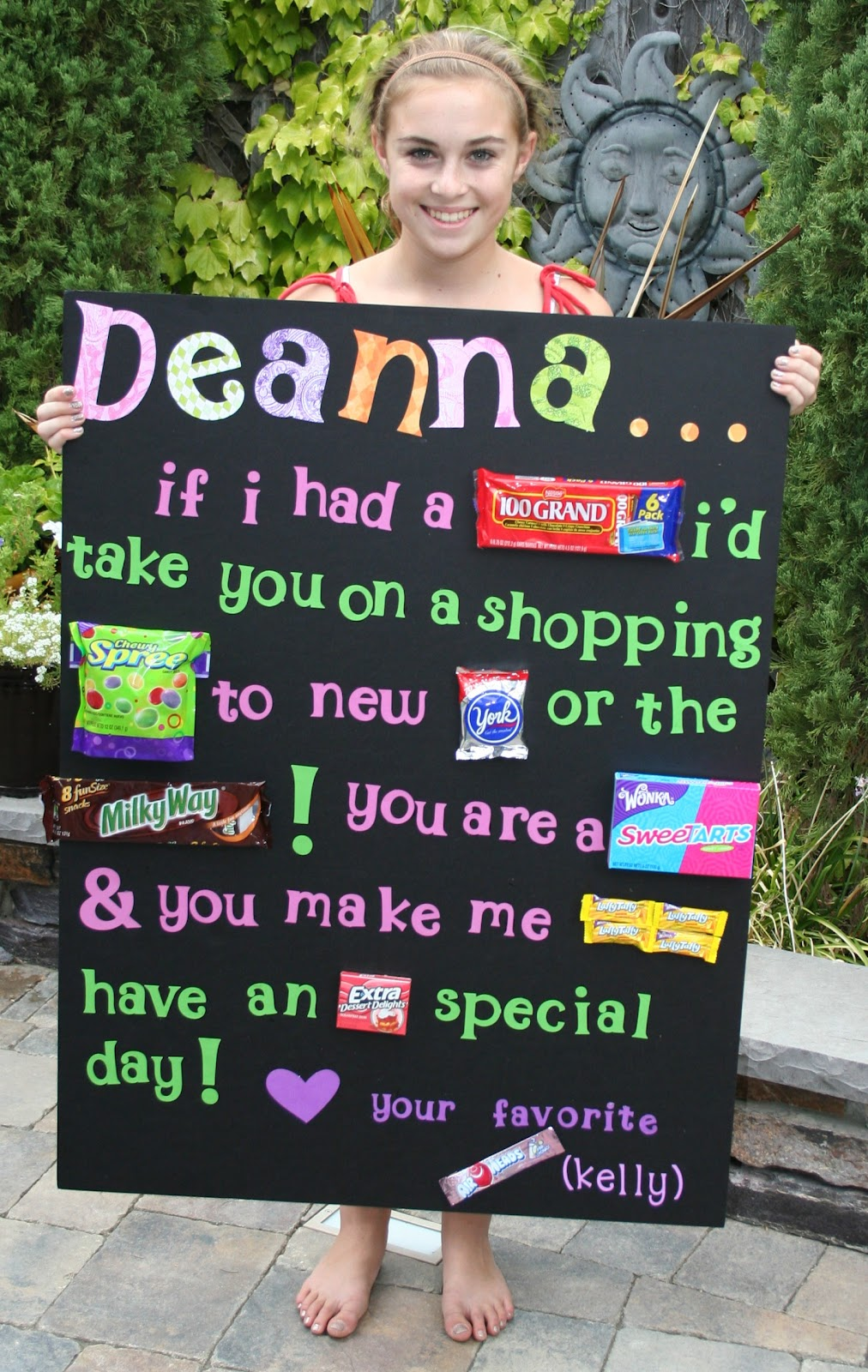 birthday candy poster for best friend ; birthday-card-to-your-best-friend-inspirational-so-cute-next-time-i-give-a-present-this-is-what-their-of-birthday-card-to-your-best-friend