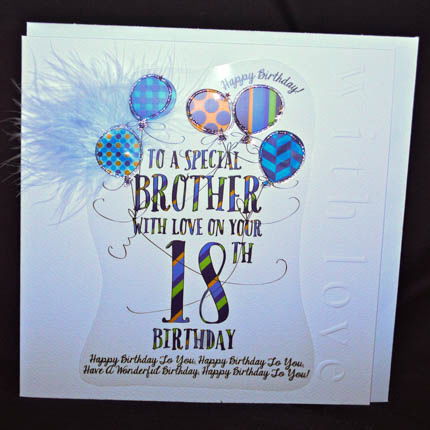 birthday card design for brother ; buy-brother-18th-birthday-card-online-eighteenth-birthday-cards-for-brothers-age-eighteen-card-for-brother_grande