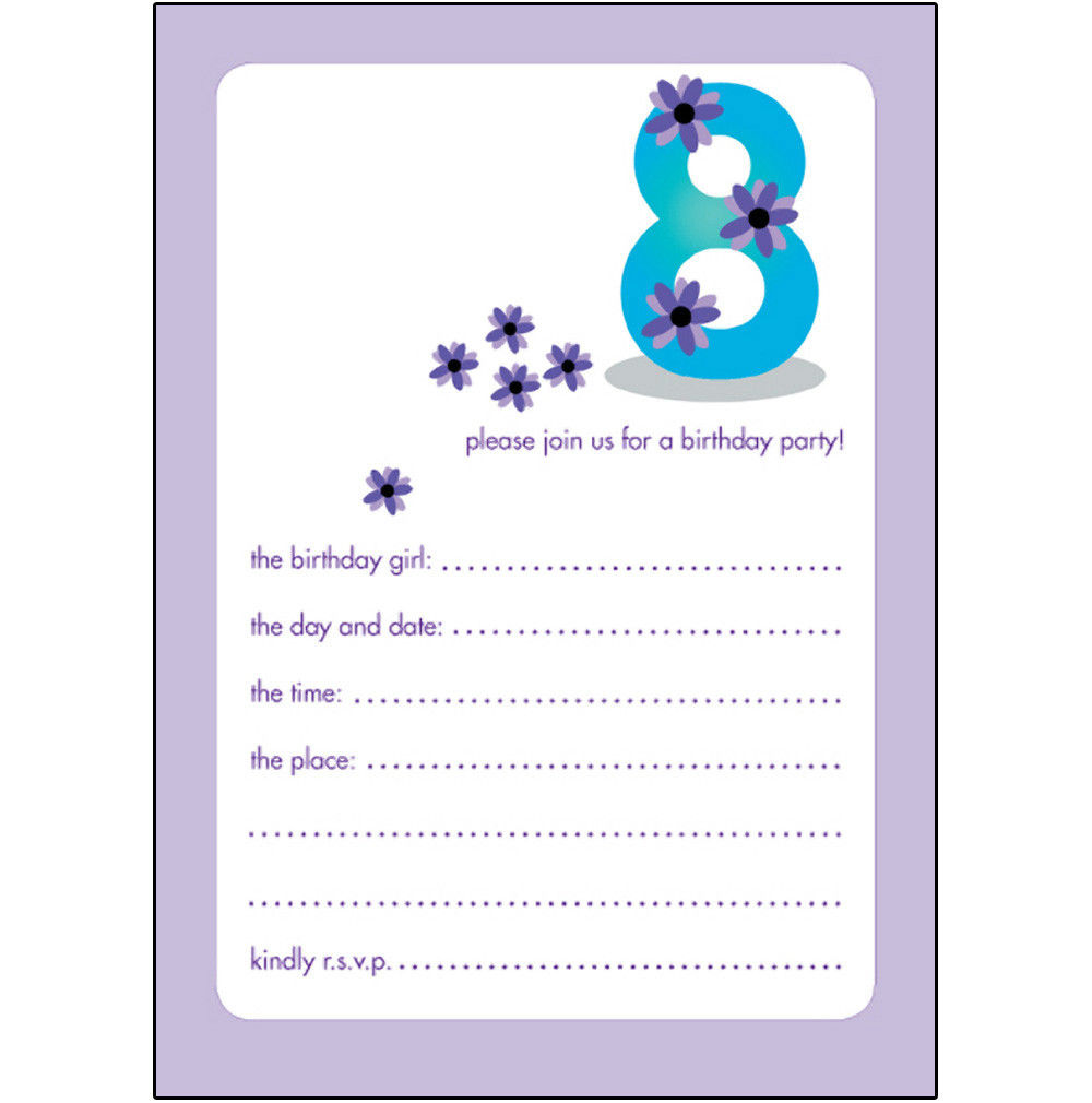 birthday card for 8 year old boy printable ; 40th_birthday_ideas_10_year_old_birthday_invitation_templates_1