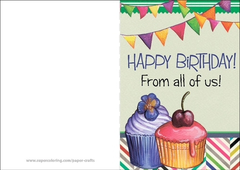 birthday card from all of us printable ; happy-birthday-from-all-of-us-card-paper-craft