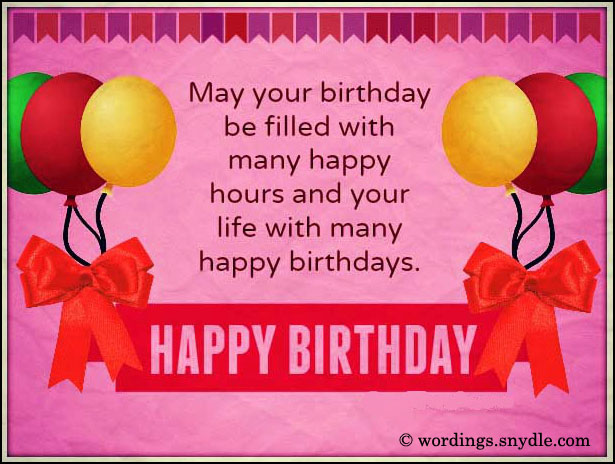 birthday card greeting ideas ; romantic-birthday-card-messages-pink-background-with-ribbon-and-balloons-decoration-image-simple-messages-for-birthday-cards