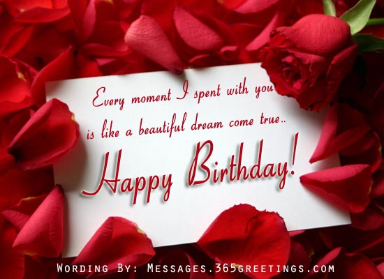 birthday card love messages ; romantic-birthday-messages
