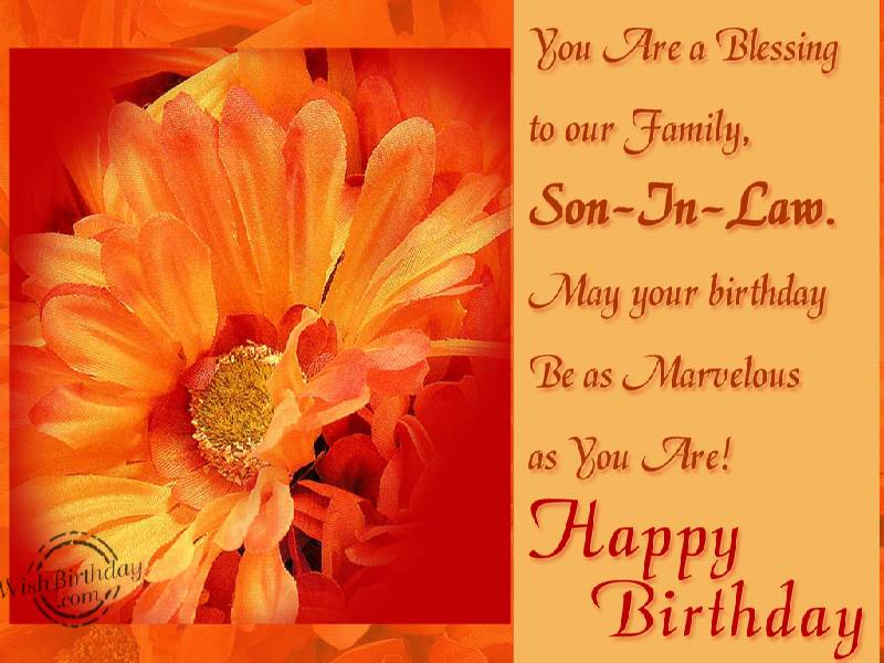 birthday card messages for son in law ; b712a59cd83defee1b33dbc29f48965c
