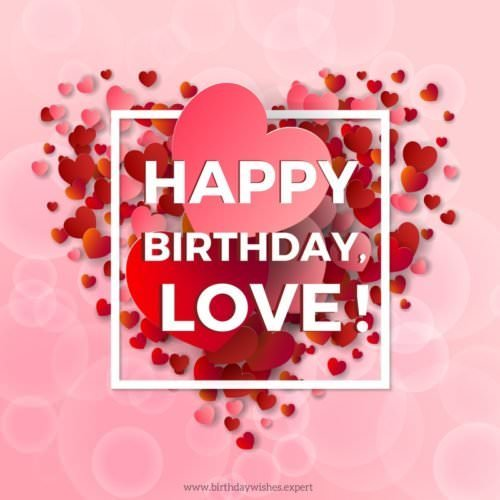 birthday card messages for your boyfriend ; Birthday-wish-for-my-boyfriend-on-background-with-love-hearts-500x500