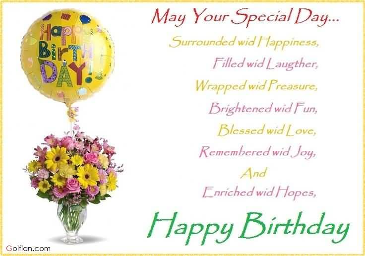 birthday card messages for your boyfriend ; Fabulous-Balloon-With-Flower-Pot-Birthday-Wishes-For-Boyfriend
