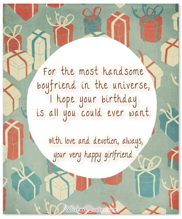 birthday card messages for your boyfriend ; handsome-boyfriend-birthday-card