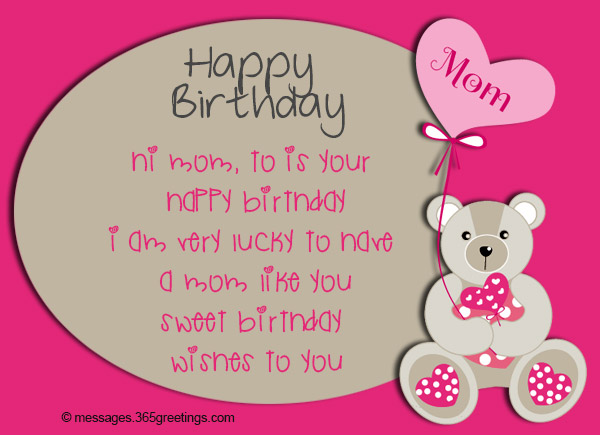 birthday card mom messages ; birthday-wishes-for-mom-10