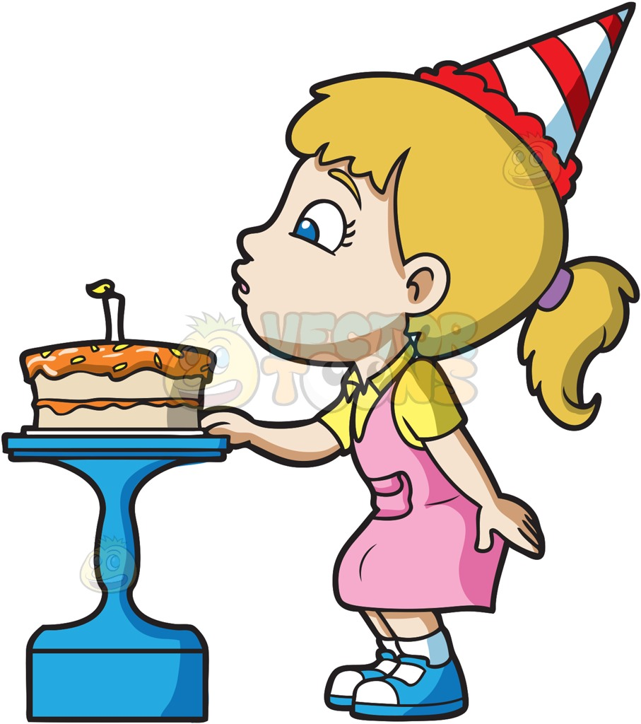 birthday clipart for her ; kids-celebrating-a-birthday-collection-002