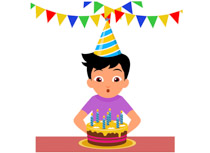 birthday clipart for women ; TN_boy-blowing-air-on-candles-birthday-clipart