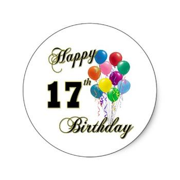 birthday clipart free download ; 17th-birthday-clipart-1