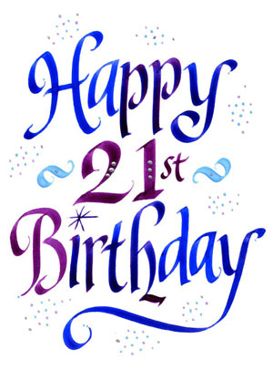 birthday clipart free download ; happy-21-birthday-clipart-1