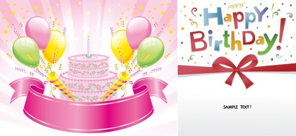 birthday clipart free download ; happy_birthday_vector_153893