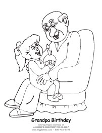 birthday coloring pages for grandpa ; 2ad5a25fe3cde167492d318f9284a493