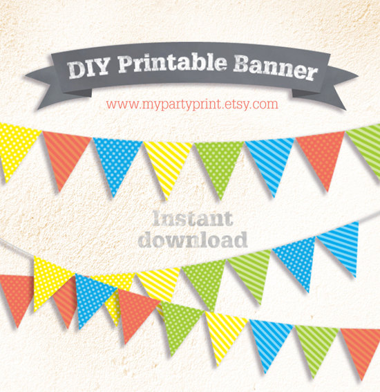 birthday decoration banner ; il_570xn_diy-party-boys-printable-flag-bunting-banner-dot-strip-on-diy-paper-bunting-decoration-for-makar-sankranti-pongal
