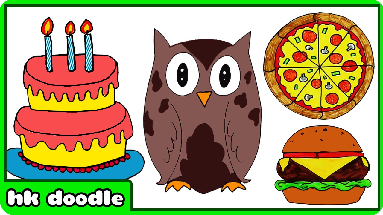 birthday drawings for kids ; maxresdefault