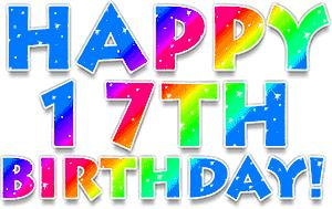 birthday fireworks clipart ; birthday-clipart-for-email-animation-glitter-happy-17th-birthday