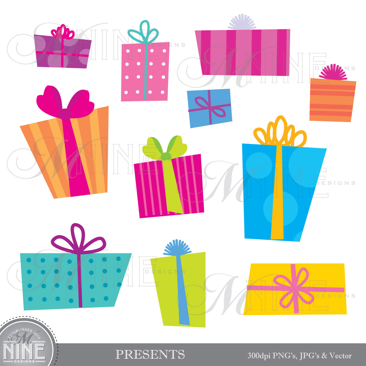 birthday gift box clipart ; birthday-gift-box-clipart-1