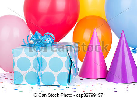birthday gift box clipart ; birthday-gift-box-stock-photos_csp32799137