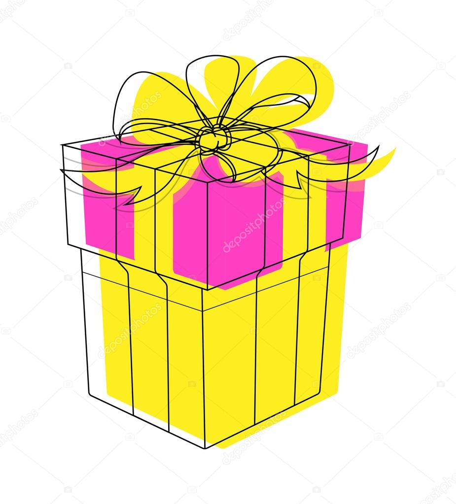 birthday gift box clipart ; depositphotos_62158067-stock-illustration-birthday-gift-box-clipart-vector
