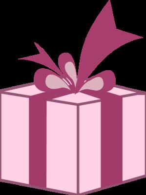 birthday gift box clipart ; pink-gift-box-clipart-1