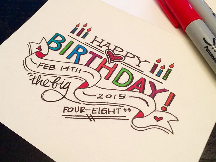 birthday gift drawing ideas ; d81acbdce7db9f07ef42227127be01a5--my-birthday-happy-birthday-letters