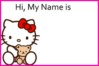 birthday gift name tags ; Hello-Kitty-Thank-You-Gift-Tags