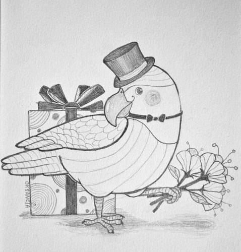 birthday greeting card sketches ; pencil-drawing-birthday-cards-3638388394-d965fce9dc