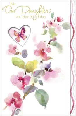 birthday greeting cards for daughter ; For-Our-Daughter-Birthday-Greetings-Card-0