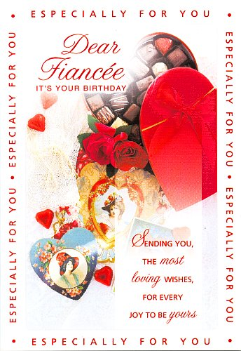 birthday greeting cards for fiance ; Fiancee-Birthday-Greeting-Cards