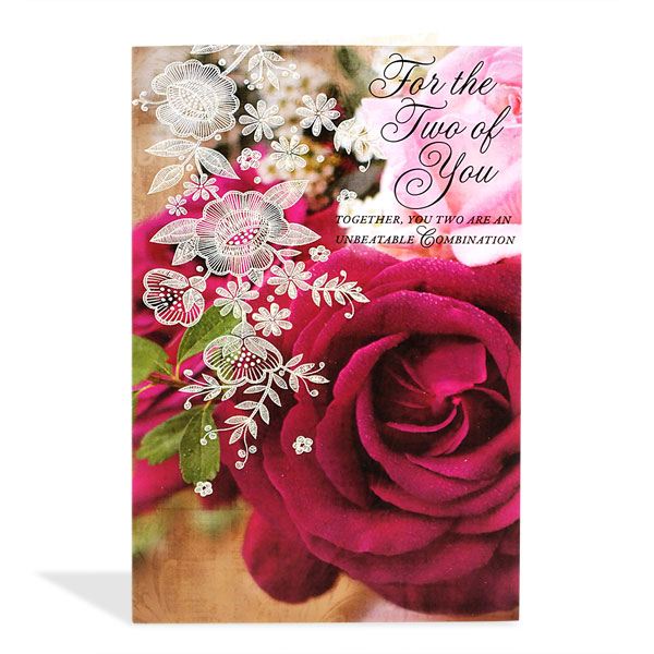 birthday greeting cards for husband online shopping ; Beautiful_Floral_Anniversary_Greeting_Card_8907089032521_ecbc932b